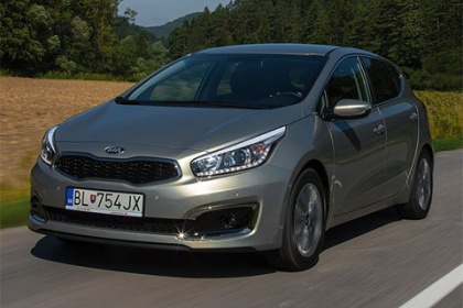 Kia cee'd 1.4 CVVT First Edition