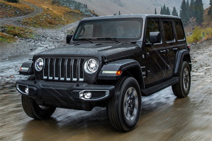 Jeep Wrangler Unlimited 2.8 CRD Rubicon AT Sahara