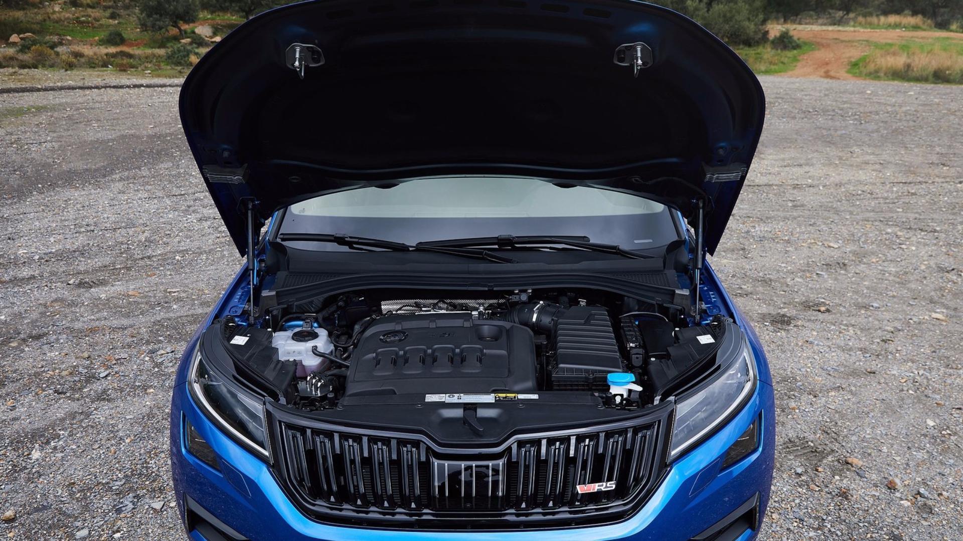 Škoda Kodiaq RS: motor